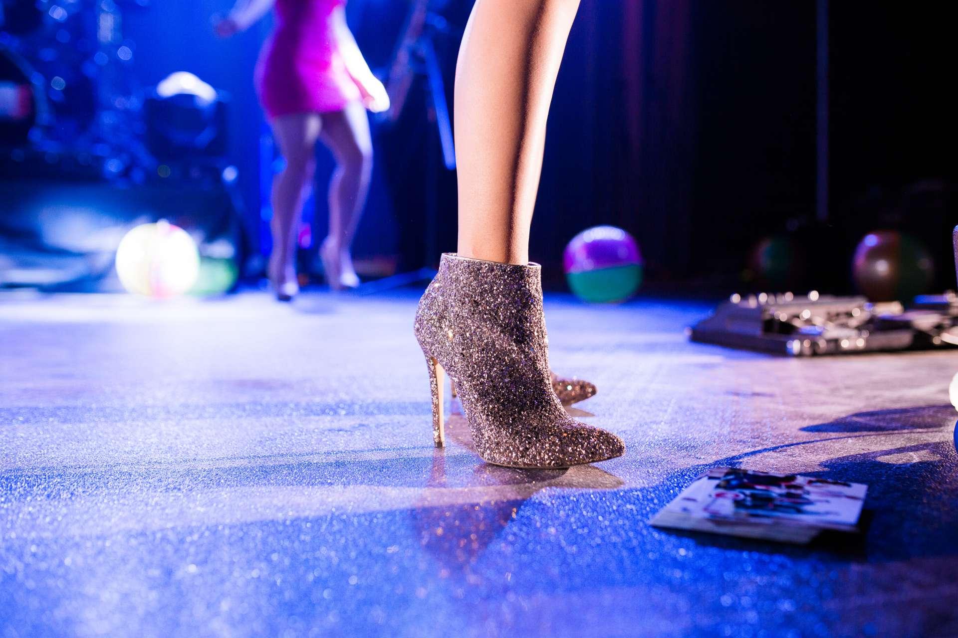 Cantantes de musical y bailarines
