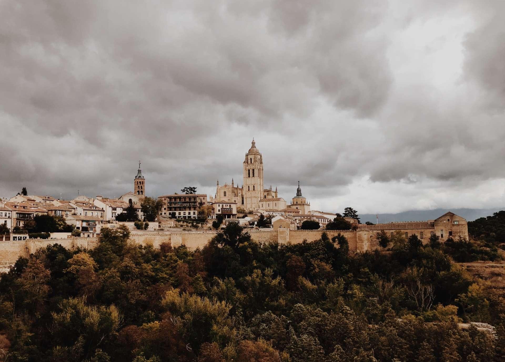 Figurantes para serie documental en Segovia